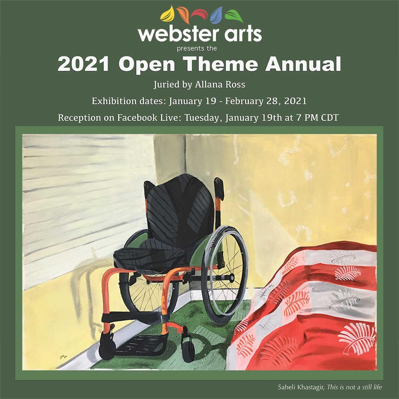 Webster Arts 2021-01 postcard